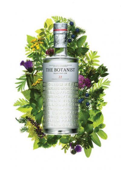 The Botanist Gin Bottle