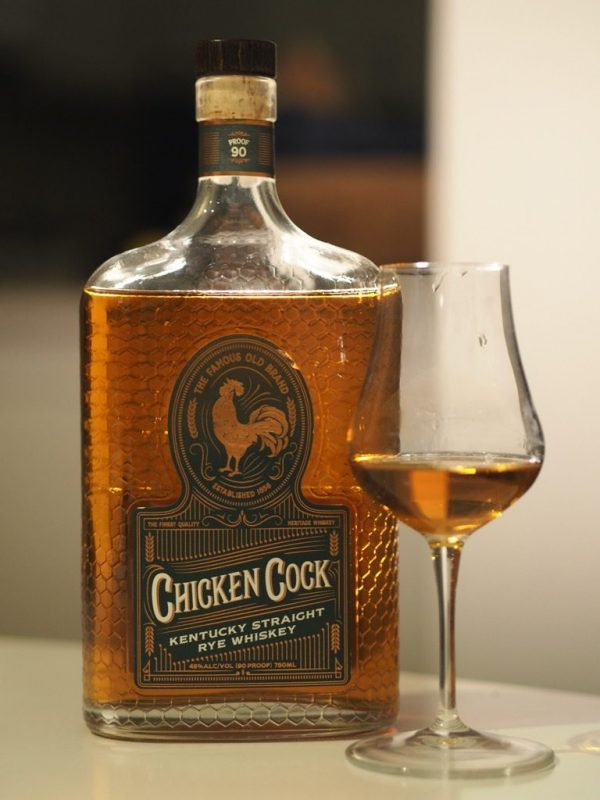 Chicken Cock Kentucky Straight Rye Whiskey