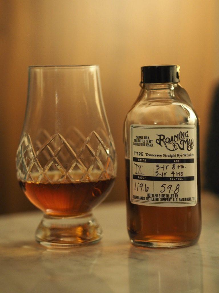 Roaming Man Rye Whiskey Batch 9