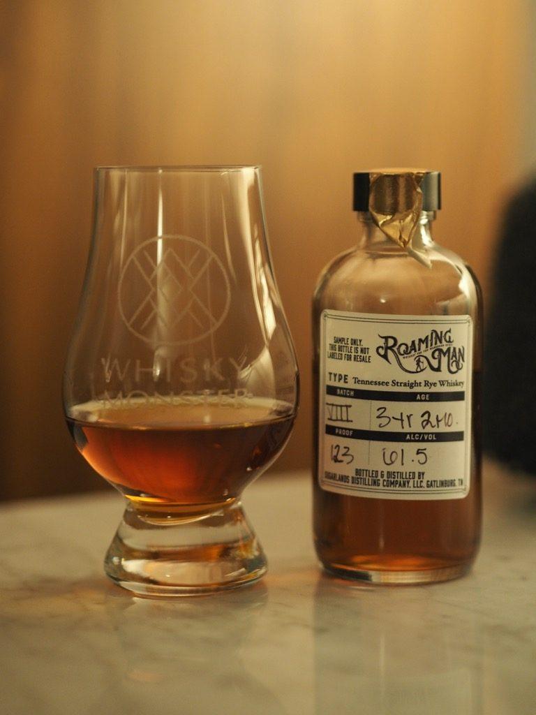 Roaming Man Rye Whiskey Batch 8