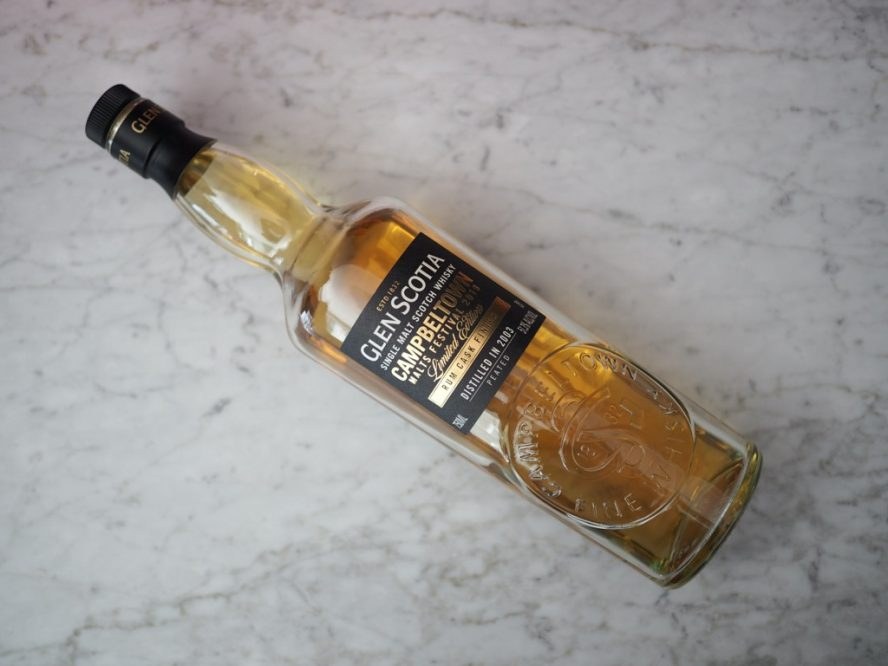 Glen Scotia Rum Cask Finish Campbeltown Festival 2019