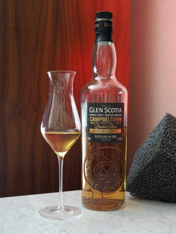 Glen Scotia Rum Cask Finish Campbeltown Malts Festival 2019