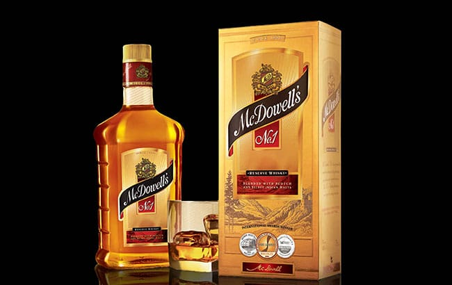 McDowell's No1 Whisky