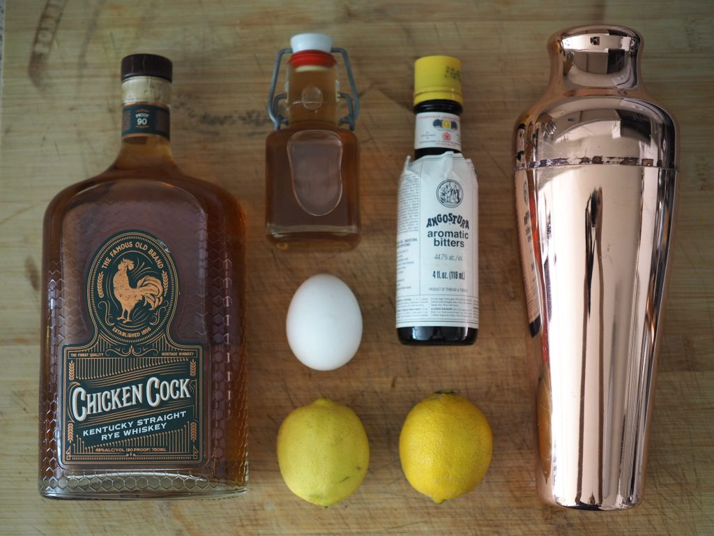 Whiskey Sour Ingredients