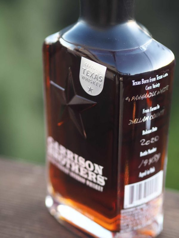Garrison Brothers Small Batch Texas Straight Bourbon Whiskey