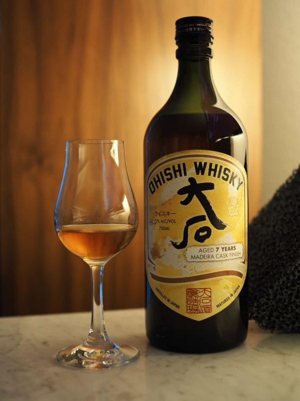Ohishi Whisky 7 Year Old Madeira Finish - SCWC Single Cask