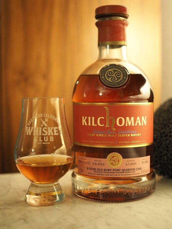 Kilchoman 8 SCWC Cask
