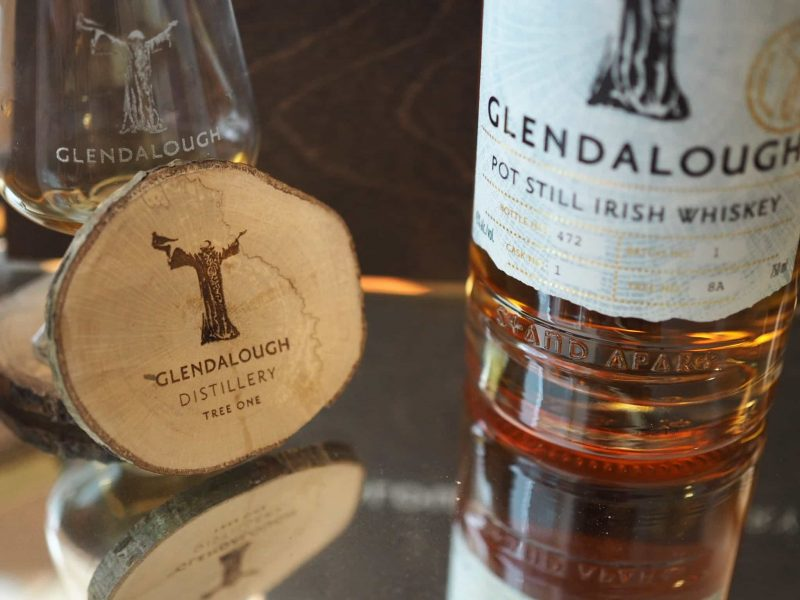 Glendalough Pot Still Irish Whiskey Batch 1 Tree 8A
