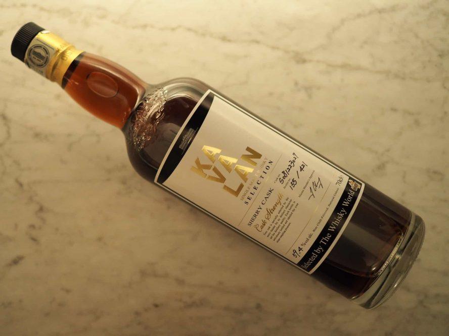 Kavalan Sherry Cask - The Whisky World Single Cask