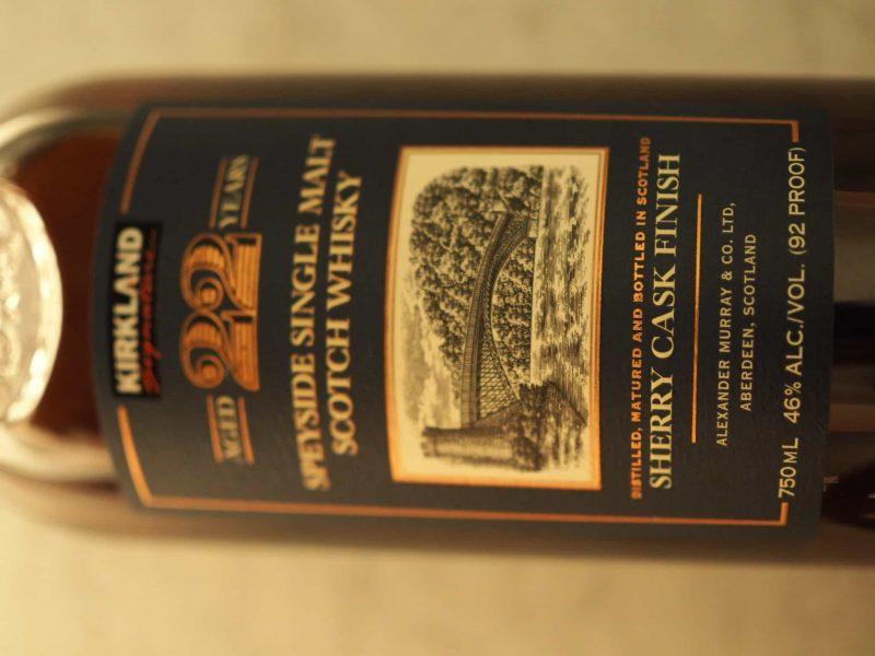 Kirkland 22 Year Old Speyside Single Malt Scotch Whisky