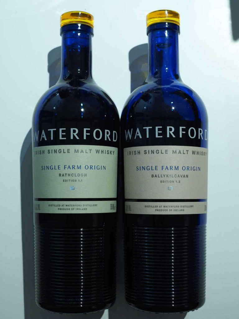 Waterford 750 and 700 ml bottles