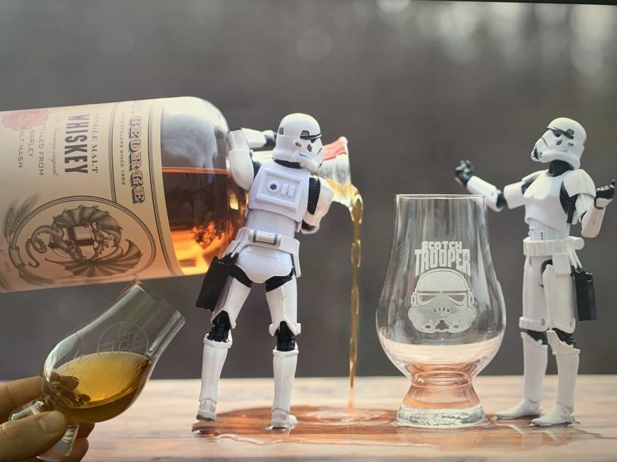 Scotch Trooper and Whisky Monster